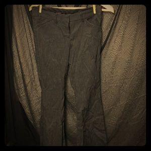 Express Editor Pants Charcoal Grey